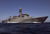 ANZAC Naval Ship