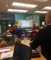 MMS teachers learning about ELP shifts
