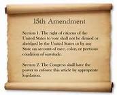 15 Amendment