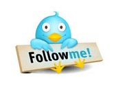 Follow us on Twitter . . .