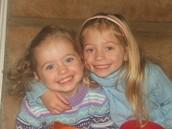 Yo casi siempre me portaba bien con hermana.
