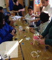 Burnet ES Students Tackle Engineering Projects
