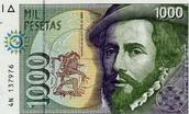 he made 1,000 dollar bill in spain