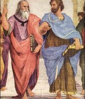How did Plato and Aristotle continue to spread their beliefs?
