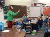 2nd Graders Learn about the Water Cycle