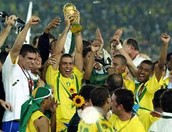 Brazil win the 2002 World cup against Germany