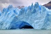 Los Glaciares de La Patagonia