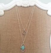 Fortuna Stone Pendant - $40