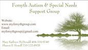 Forsyth Autism and Special Needs Support Group