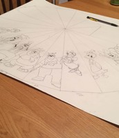 Day 4: Tracing the Characters that I had