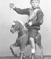 Traditional austrian war costume