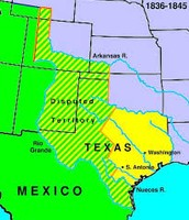 1836 Texas Independence established
