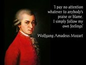 Mozart's quote