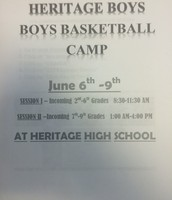Heritage Boys Basketball Camp