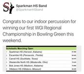 Sparkman Indoor Percussion