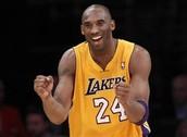 #8 Kobe Bryant (AKA The Black Mamba)