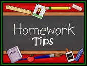 Tips For Completing Homework With Your Child: