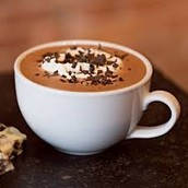 Get a cup of hot chocolate for £1.95!