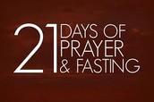 Prayer & Fast this January