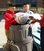 NMS Students Composting