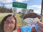 Flat Stanley Travels to Pleasant Plains, Arkansas