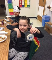 """Even the """"Cookie Lady"""" loves the 100th Day of School!"""