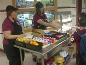 BV Breakfast Cart - Open to ALL students K-6