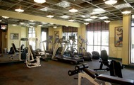 work on your fitness 24hrs a day in our fitness center!