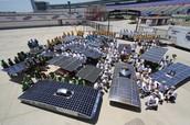 My solar car team
