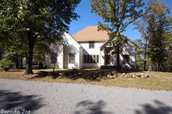 Enjoy 160 degree lake views from all 3 levels of this Quality Custom Built Home - 2549 Alum Cave Rd., Bee Branch, AR