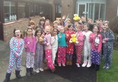 Pupils came to school wearing pyjamas...And all for charity!