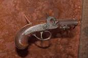 Single-shot .44 caliber derringer Produced in 1856