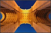 The artwork on the Arc de Triomphe and what it means..