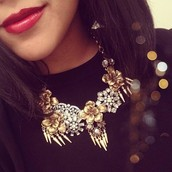 Georgie Statement Necklace - 50% off ($114)