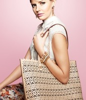 Avalon Perf Blush Tote