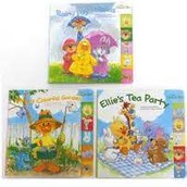 rainy day friends, Colorful garden, Ellies tea party.