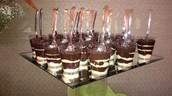 Mini Shots de Chocolate/Mini Chocolate Shots
