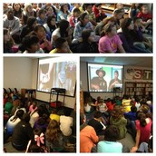 5th Graders Skype With The Gator Boys!
