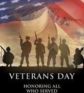 No School in Observance of Veterans Day