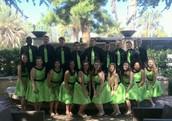 Choir at Heritage Festival in Los Angeles