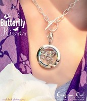 Living Locket with Butterfly plate!