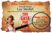 Lifeline Family Center's Benefit Dinner- March 26
