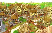 Life in Medieval town