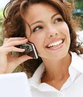 En mi me gusta hablar por teléfono