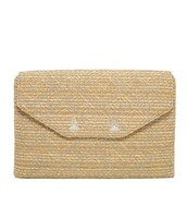 Slim City Clutch with Silver Chain