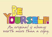 Feel Free To BE WHO YOU ARE