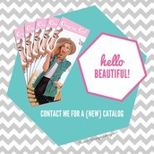 Message me for a new catalog!
