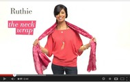 10 Ways to wear your Scarf Video!