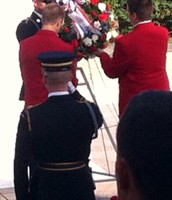 SkillsUSA Wreath Ceremony- Tomb of the Unknown Soldier