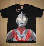 Ultraman camisa!